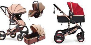 Carrito de bebé tres ruedas