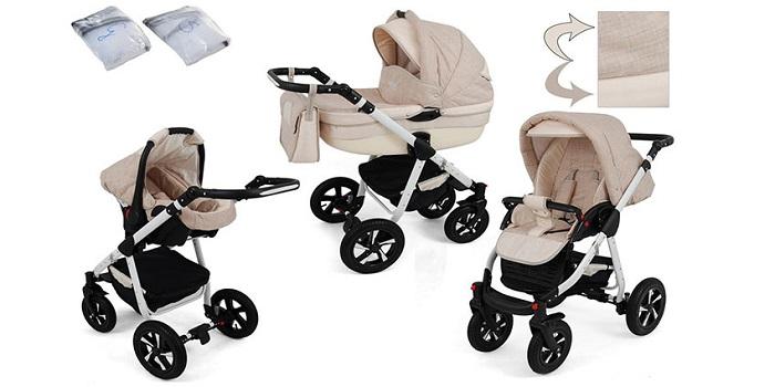 Carros de bebe 3 piezas con gran seguridad