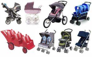 Tipos de coches de bebés