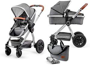 mejor carrito de bebé 2 piezas al mejor precio